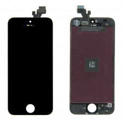 Vitre tactile + écran LCD avec châssis couleur noire iPhone 5