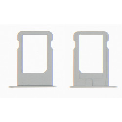 Tiroir nano sim argent iPhone 5
