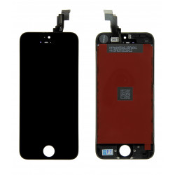Ecran iPhone 5C noir Gamme Optimum