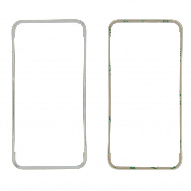 Frame + adhesif blanc iPhone 4S