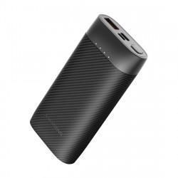 Batterie externe noire compacte 10000 mAh - Phantom 10