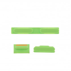 Kit bouton power silencieux volume vert iPhone 5C