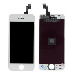 Ecran iPhone 5S blanc Gamme Premium