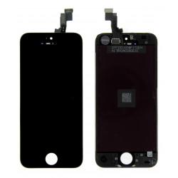 Ecran iPhone 5S noir Gamme Premium